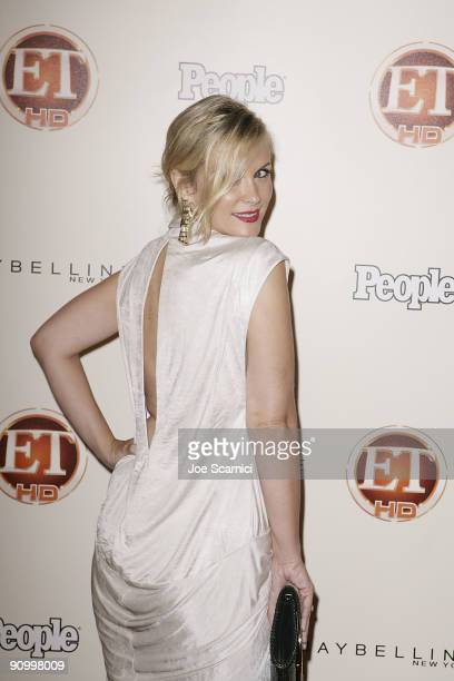 Bonnie Somerville arrives at Vibiana for the 13th Annual Entertainment Tonight and People magazine Emmys After Party on September 20, 2009 in Los...