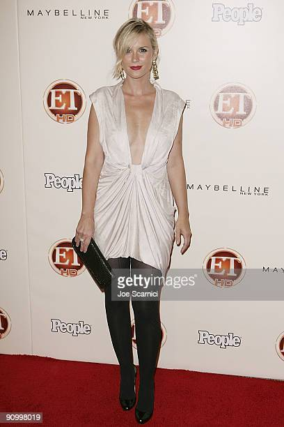 Bonnie Somerville arrives at Vibiana for the 13th Annual Entertainment Tonight and People magazine Emmys After Party on September 20 2009 in Los...
