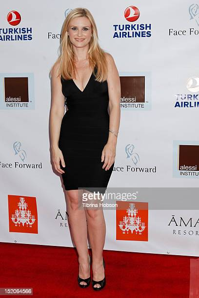 Bonnie Somerville attends the 3rd annual face forward gala on September 15 2012 in Beverly Hills California