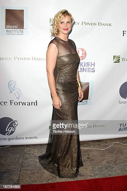 Bonnie Somerville attends the 4th annual Face Forward LA Gala at Fairmont Miramar Hotel on September 28, 2013 in Santa Monica, California.