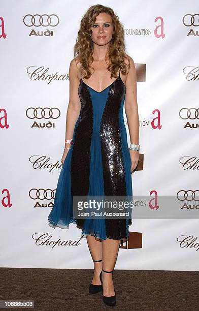 Bonnie Somerville during 14th Annual Elton John AIDS Foundation Oscar Party Cohosted by Audi Chopard and VH1 Arrivals at Pacific Design Center in...