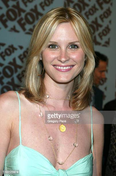 Bonnie Somerville during 2005/2006 FOX Prime Time UpFront Inside Green Room and Party at Seppi's Restaurant and Central Park Boathouse in New York...