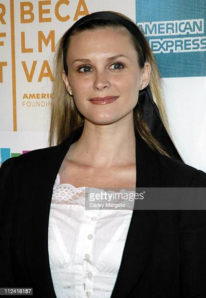 Bonnie Somerville during 5th Annual Tribeca Film Festival 'The TV Set' Premiere Arrivals at Tribeca Performing Arts Center in New York City New York...