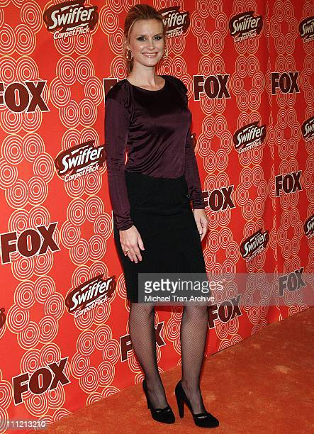 Bonnie Somerville during FOX Fall Casino Party Arrivals at Cabana Club in Hollywood CA United States