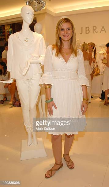 Bonnie Somerville during Ron Herman Summer White Party at Ron Herman Store in Beverly Hills CA United States