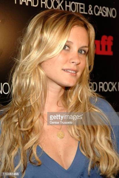 Bonnie Somerville during STUFF Magazine Music Issue Weekend Poker Tournement Hosted By Phat Farm Baby Phat and STUFF Magazine at The Hard Rock Hotel...