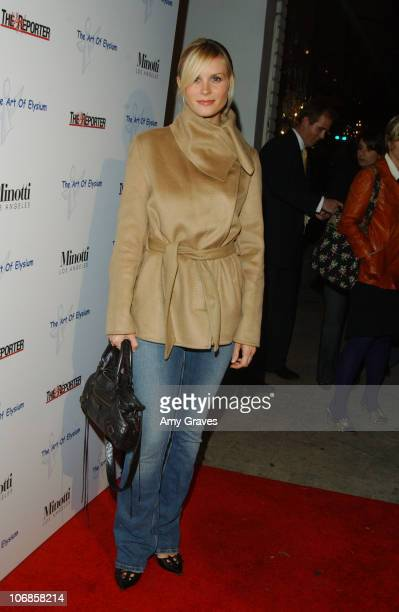 Bonnie Somerville during The Art of Elysium Presents Russel Young fame shame and the realm of possibility Hosted by Balthazar Getty and Joaquin...