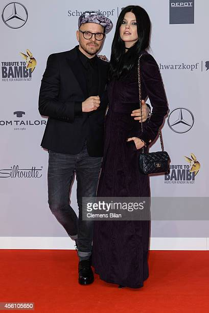 Bonnie Strange and Armin Morbach attend the Tribute To Bambi 2014 at Station on September 25 2014 in Berlin Germany
