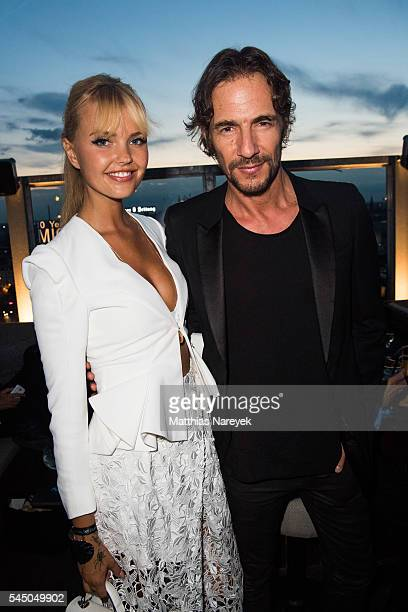 Bonnie Strange and Thomas Hayo attends the MICHALSKY StyleNite 2016 on July 1 2016 in Berlin Germany