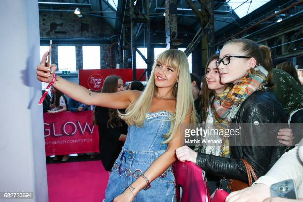 Bonnie Strange attends the GLOW The Beauty Convention on May 13 2017 in Duesseldorf Germany