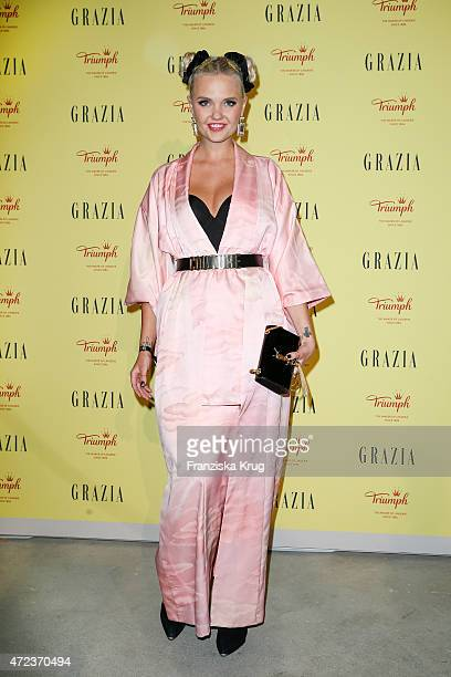 Bonnie Strange attends the GRAZIA Best Inspiration Award 2015 on May 06 2015 in Berlin Germany