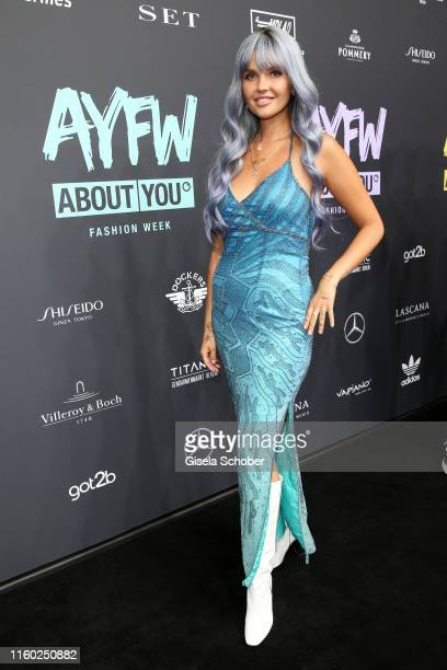 Bonnie Strange attends the opening show of the AYFW About You Fashion Week at ewerk on July 05 2019 in Berlin Germany