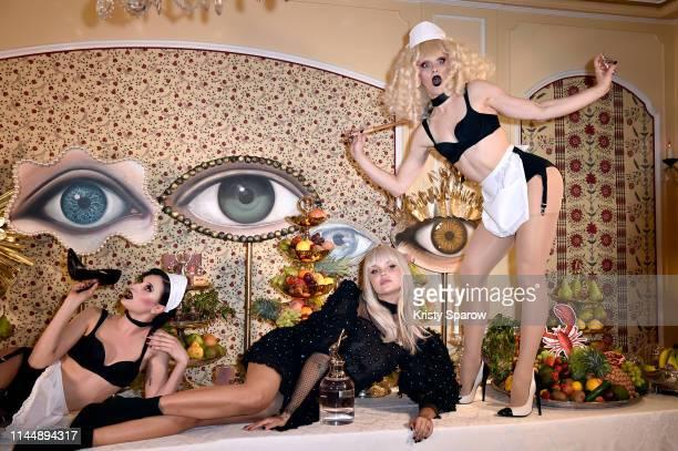 Bonnie Strange attends the Scandal A Paris JeanPaul Gaultier's New Fragrance Launch Dinner Party at Lassere on April 24 2019 in Paris France