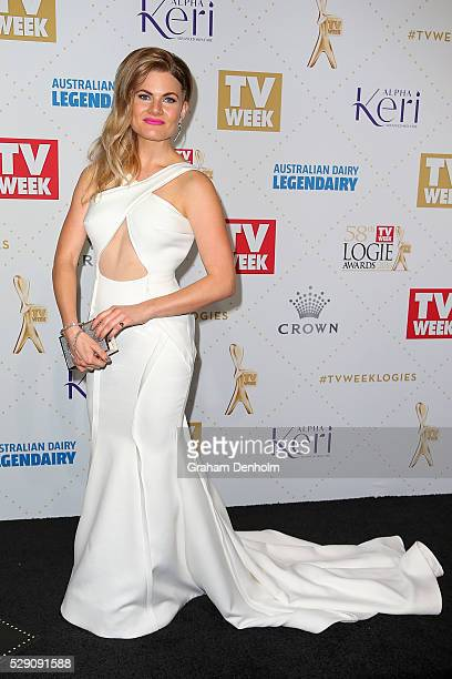 Bonnie Sveen arrives at the 58th Annual Logie Awards at Crown Palladium on May 8 2016 in Melbourne Australia