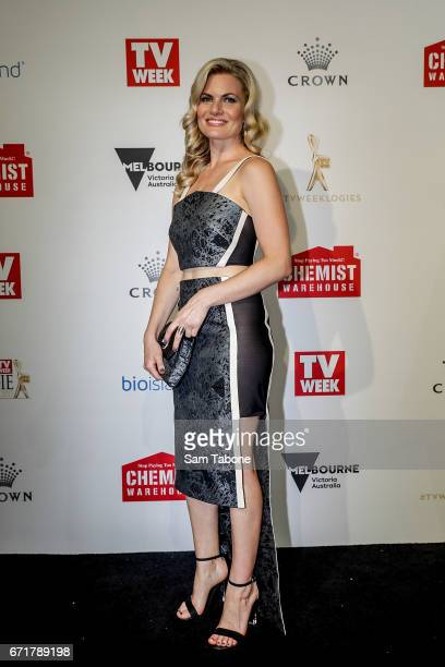 Bonnie Sveen arrives at the 59th Annual Logie Awards at Crown Palladium on April 23 2017 in Melbourne Australia