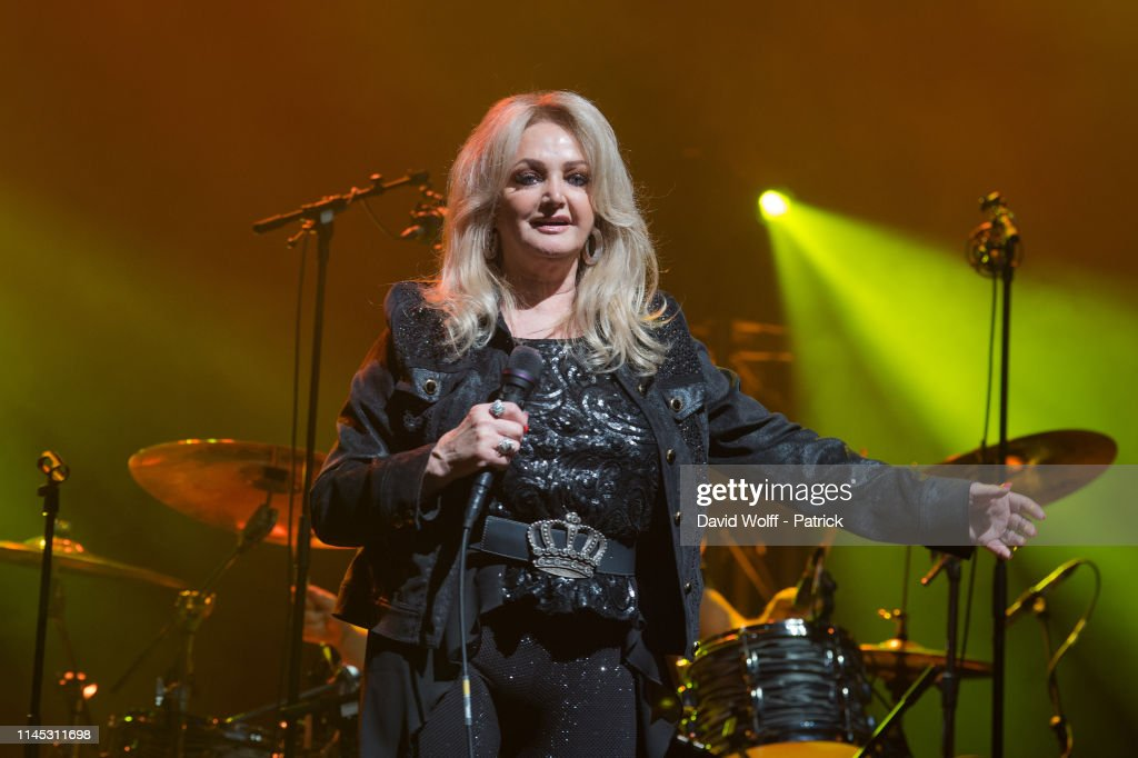 FRA: Bonnie Tyler Performs At L'Olympia In Paris