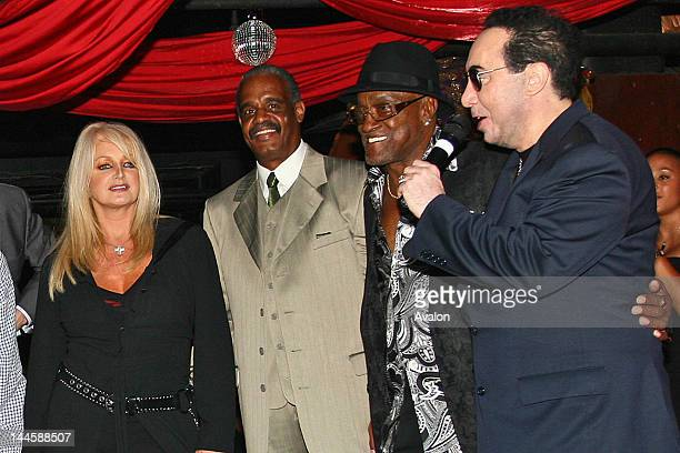Bonnie Tyler Russell Thompkins Jr Billy Paul and David Gest David Gest Promotional Evening for New Years All Star Soul Spectacular at ChinaWhite...