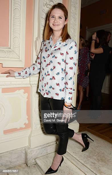 Bonnie Wright attends the InStyle Best of British Talent party in celebration of BAFTA in association with Lancome and Sky Living at Dartmouth House...