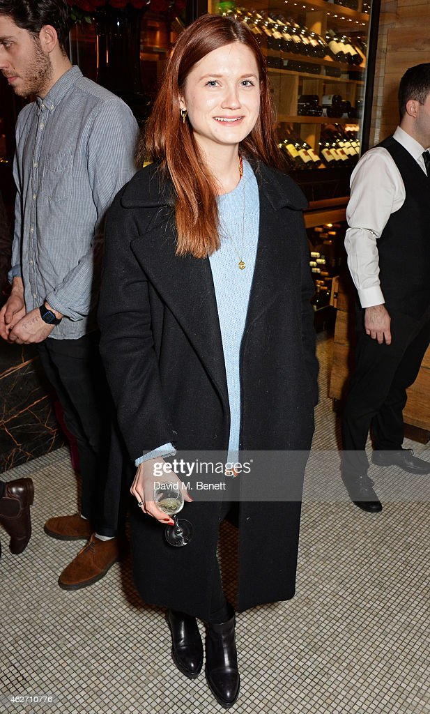 Bonnie Wright attends the launch of 'A Collection Of Contemporary British Love Poetry' at Fortnum & Mason on February 3, 2015 in London, England.