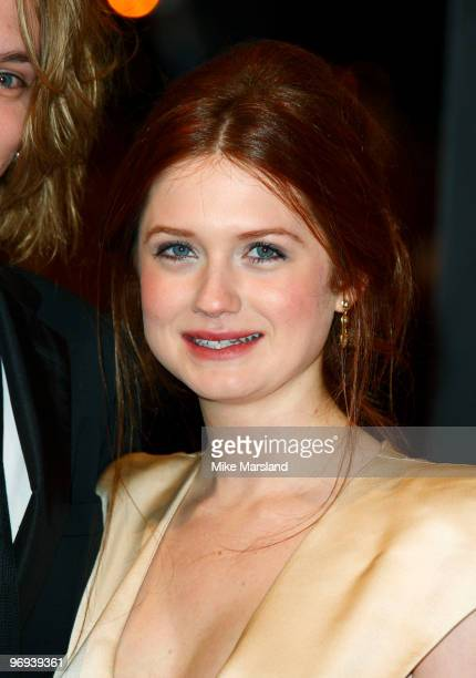 Bonnie Wright attends The Orange British Academy Film Awards 2010 at The Royal Opera House on February 21 2010 in London England