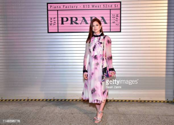 Bonnie Wright attends the Prada Resort 2020 fashion show at Prada Headquarters on May 02 2019 in New York City