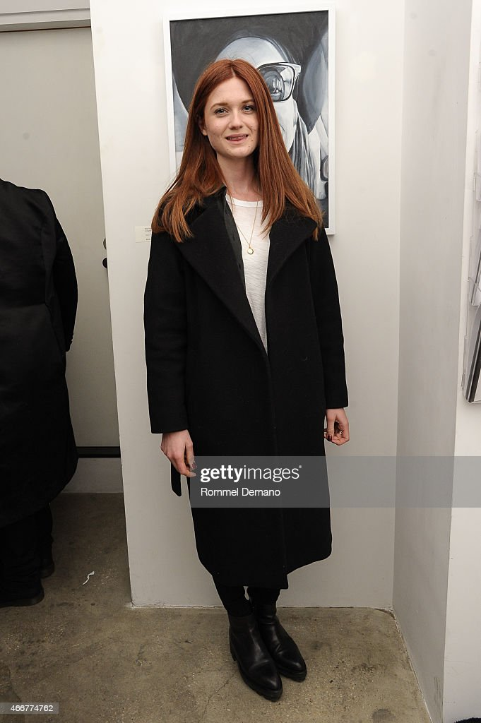 Bonnie Wright attends the Tali Lennox Exhibition Opening Reception at Catherine Ahnell Gallery on March 18, 2015 in New York City.