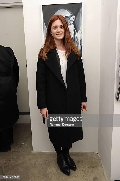 Bonnie Wright attends the Tali Lennox Exhibition Opening Reception at Catherine Ahnell Gallery on March 18 2015 in New York City