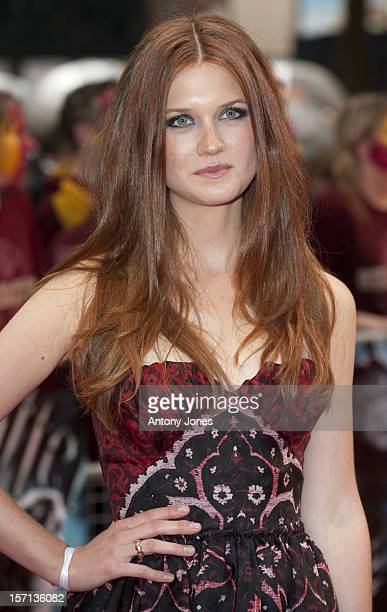 Bonnie Wright Attends The World Premiere Of 'Harry Potter And The Half Blood Prince' Held At The Odeon Leicester Square London