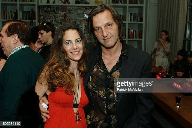 Bonnie Young and Luca Babini attend Yvonne Force Villareal Birthday Celebration at Stephen Weiss Studio on January 31 2006 in New York City