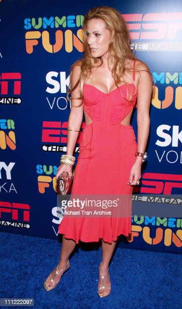 BonnieJill Laflin during ESPN The Magazine Presents Summer Fun 2006 Arrivals at The Roosevelt Hotel in Hollywood California United States