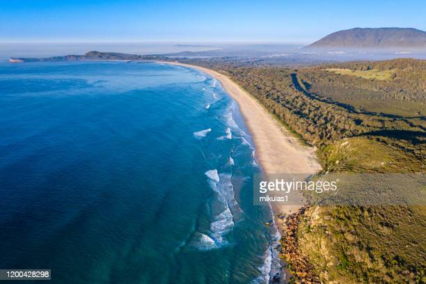 bonny hills beach - port macquarie stock pictures, royalty-free photos & images
