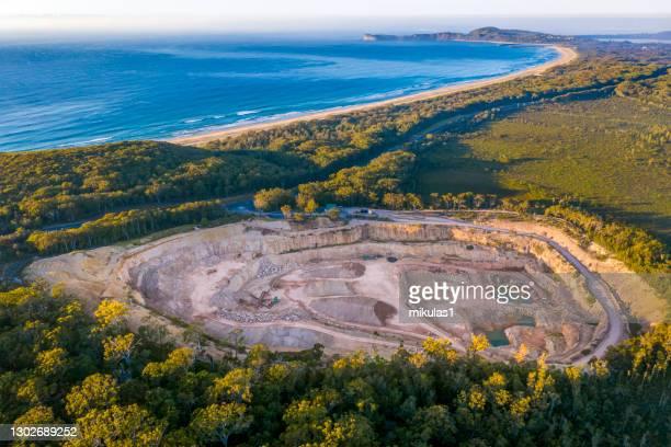 bonny hills quarry - port macquarie stock pictures, royalty-free photos & images