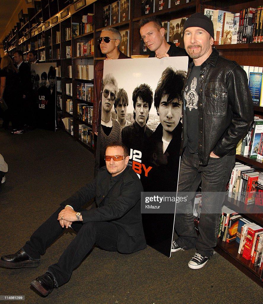 """U2 Book Signing for """"U2 by U2"""" - September 26, 2006"""