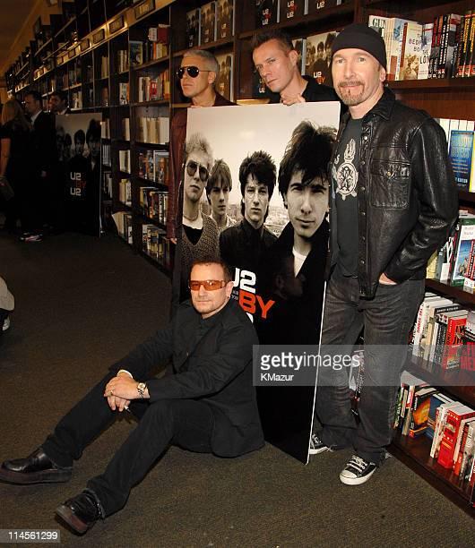Bono Adam Clayton Larry Mullen and The Edge of U2