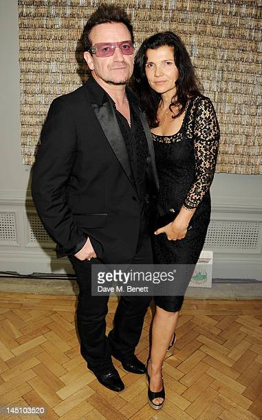 Bono and Ali Hewson attend 'A Celebration Of The Arts' at Royal Academy of Arts on May 23 2012 in London England