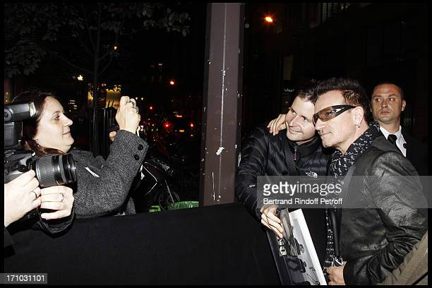 Bono at Every Journey Began In Africa Party For The Exhibition Africa Rising And The Discovery Of The Collaboration Between Edun And Louis Vuitton