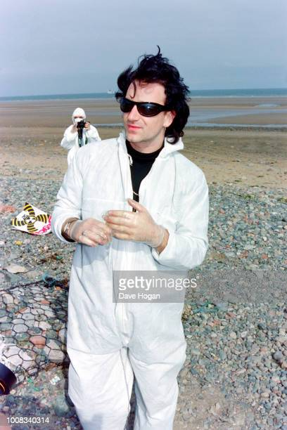 Bono of Irish band 'U2' joins protests at Sellafield on June 20th England