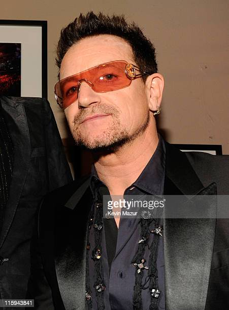 Bono of U2 attends the 65th Annual Tony Awards at the Beacon Theatre on June 12 2011 in New York City