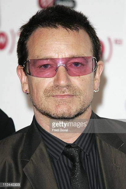 Bono of U2 during Bono Announces the Latest Iconic Brand to Join Product - May 15, 2006 at Carphone Warehouse, Oxford Street in London, United...