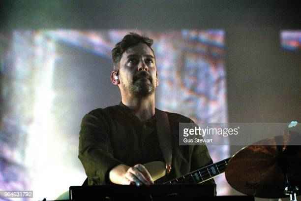 Bonobo performs on stage at Alexandra Palace on May 31 2018 in London England