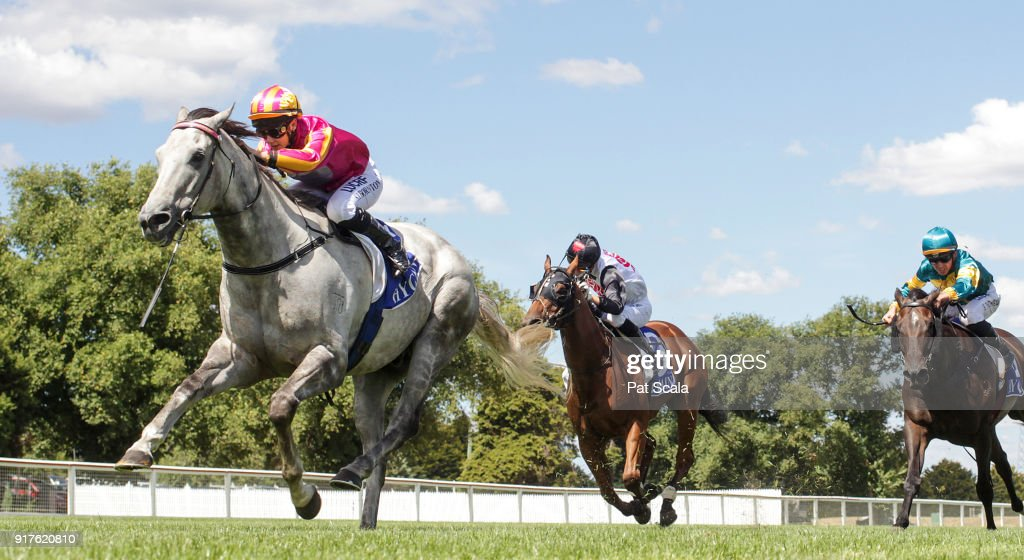 Bon's Ghost ridden by Stephanie Thornton wins the Hygain Winnerâs Choice Rising Stars BM64 Handicap at Sportsbet-Ballarat Racecourse on February 13, 2018 in Ballarat, Australia.