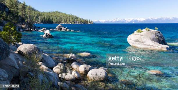 Bonsai Rock, Lake Tahoe, panorama