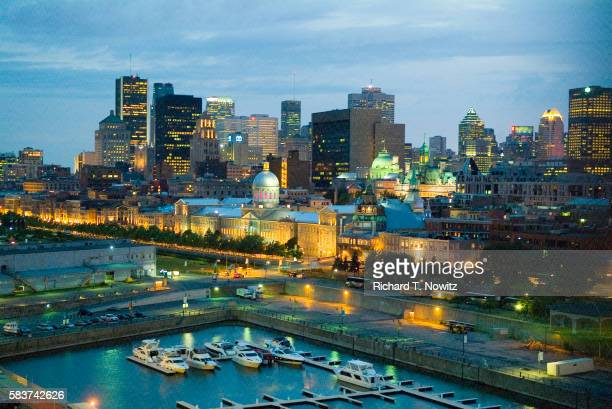 Bonsecours Market and Old Port in Montreal