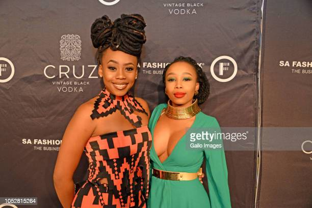 Bontle Candice Modiselle during the Official SA Fashion Week Opening Party in association with Cruz Vodka at The Mark on October 22 2018 in Sandton...