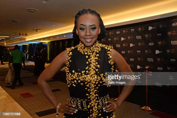 Bontle Modiselle during the DStv Mzansi Viewer's Choice Awards event at the Sandton Convention Centre on November 24 2018 in Sandton South Africa The...