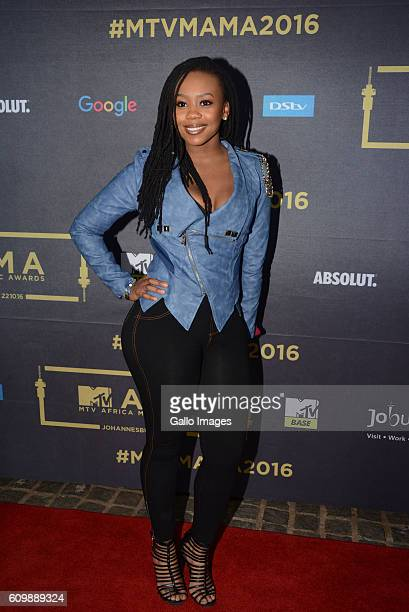 Bontle Modiselle during the MTV Africa Music Awards 2016 Nominations at the Constitutional Hill Braamfontein on September 21 2016 This is sixth year...