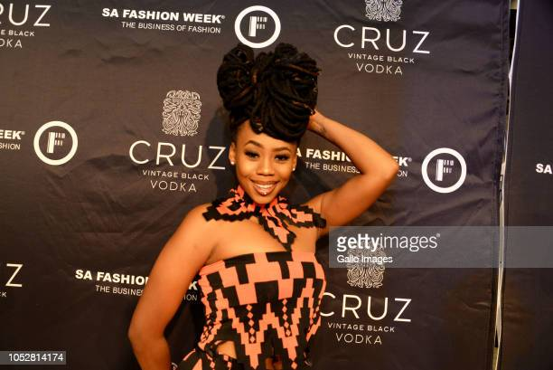 Bontle Modiselle during the Official SA Fashion Week Opening Party in association with Cruz Vodka at The Mark on October 22 2018 in Sandton South...
