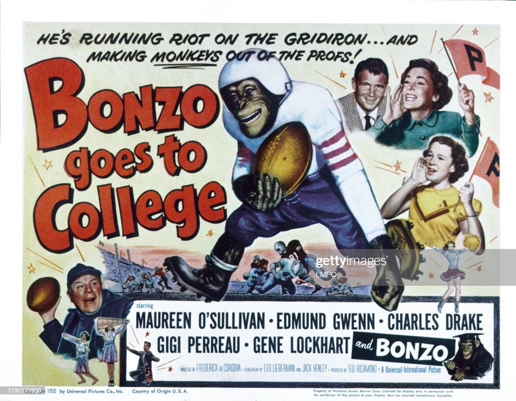 Bonzo Goes To College : News Photo