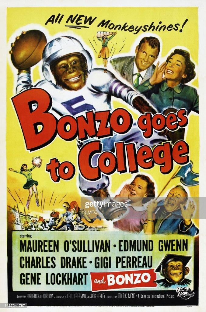 Bonzo Goes To College : News Photo