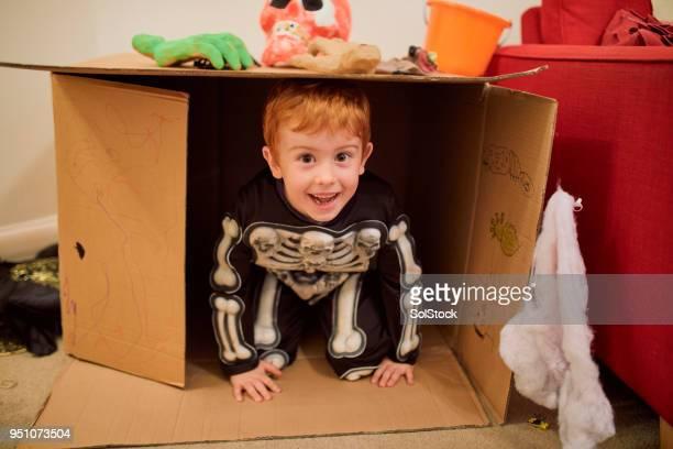 ¡bu! - esqueleto humano fotografías e imágenes de stock